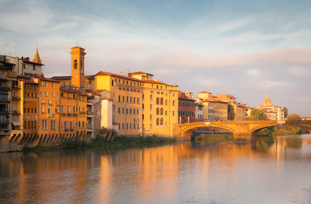 Third Place - Florence at Sunset by David Townshend